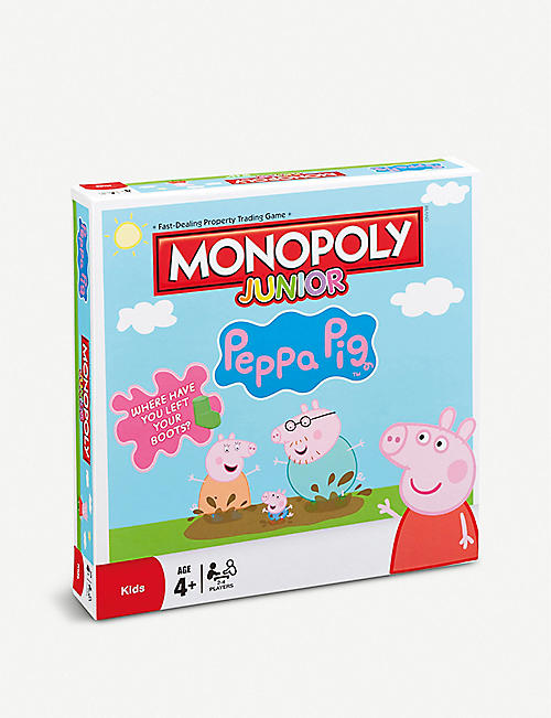 PEPPA PIG Monopoly Junior game