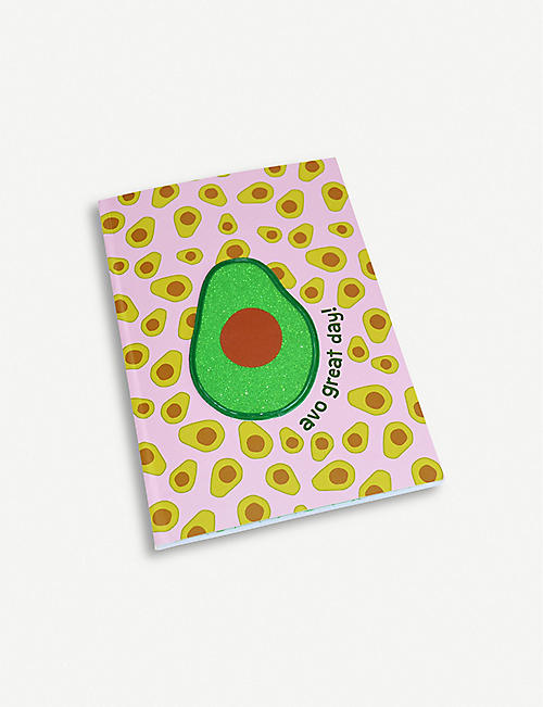 BACK TO SCHOOL Tutti Fruity avocado notebook