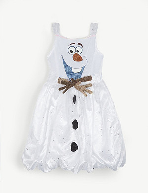 FROZEN Disney Frozen II Olaf dress 5-6 years