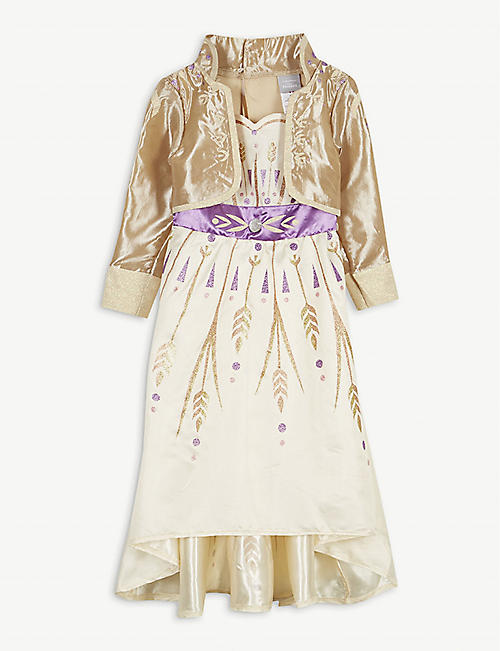 FROZEN II Disney Frozen II Deluxe Anna satin dress 5-6 years