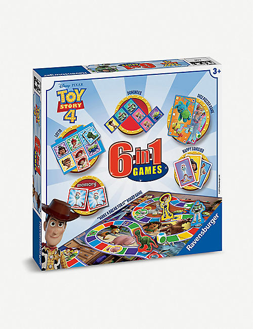 TOY STORY Toy Story 4 6-in-1 games box