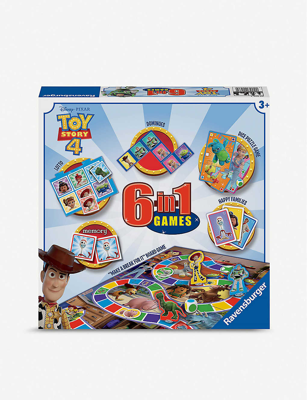 TOY STORY: Disney Toy Story 4 6-in-1 games box
