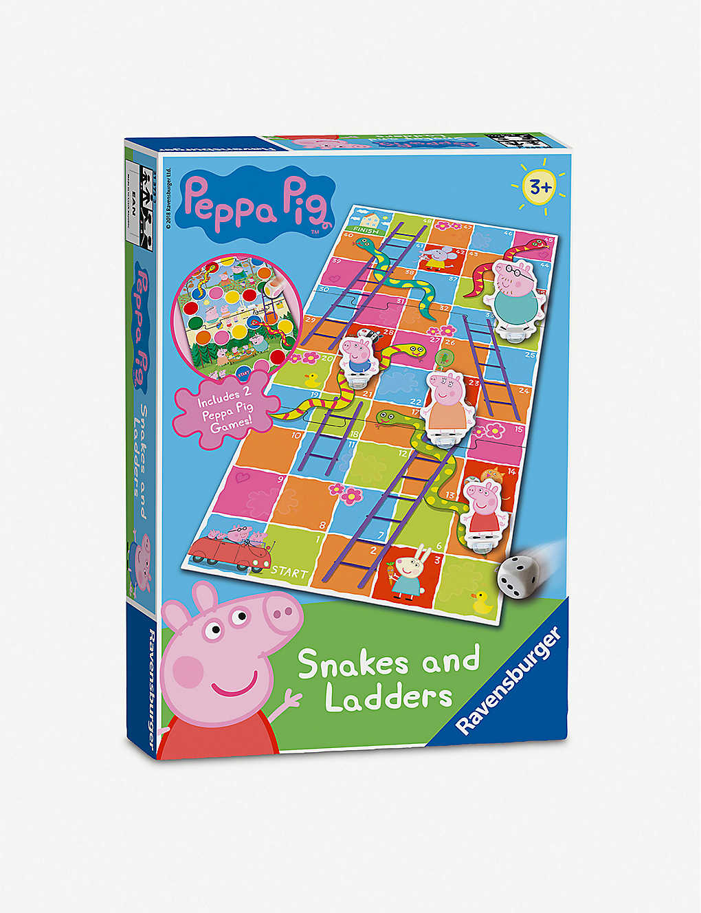 PEPPA PIG: Snakes & Ladders board game