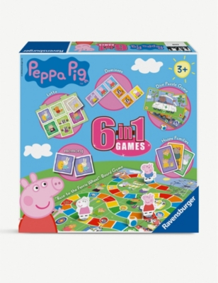 PEPPA PIG 6-in-1 games box