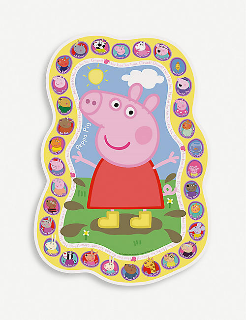 PEPPA PIG Ravensburger Shaped giant floor jigsaw puzzle