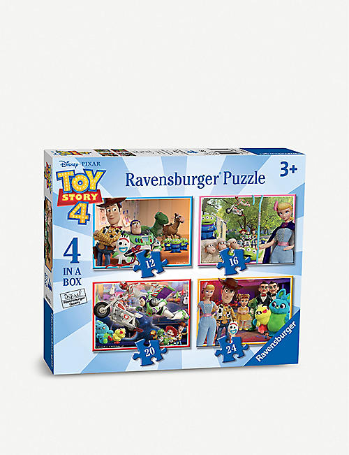 TOY STORY Disney Ravensburger four-in-a-box jigsaw puzzle