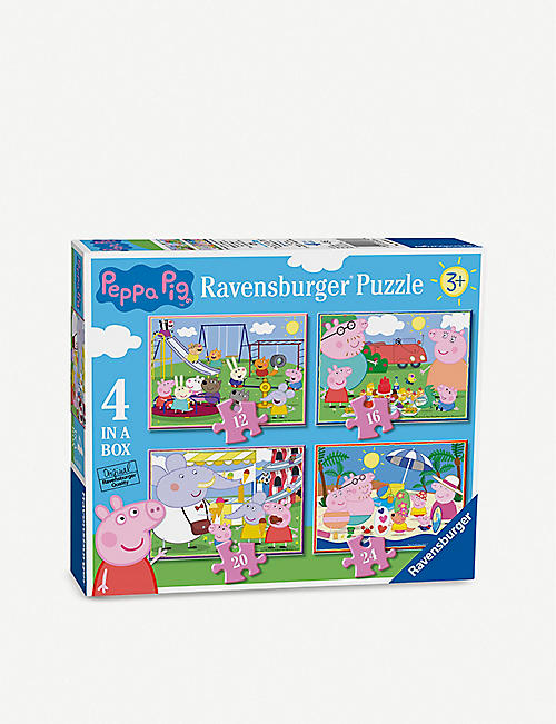 PEPPA PIG Ravensburger 4-in-a-box puzzle set