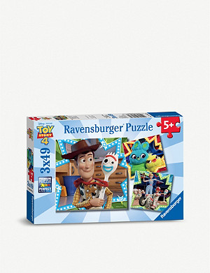 TOY STORY Ravensburger 3x 49-piece jigsaw puzzles
