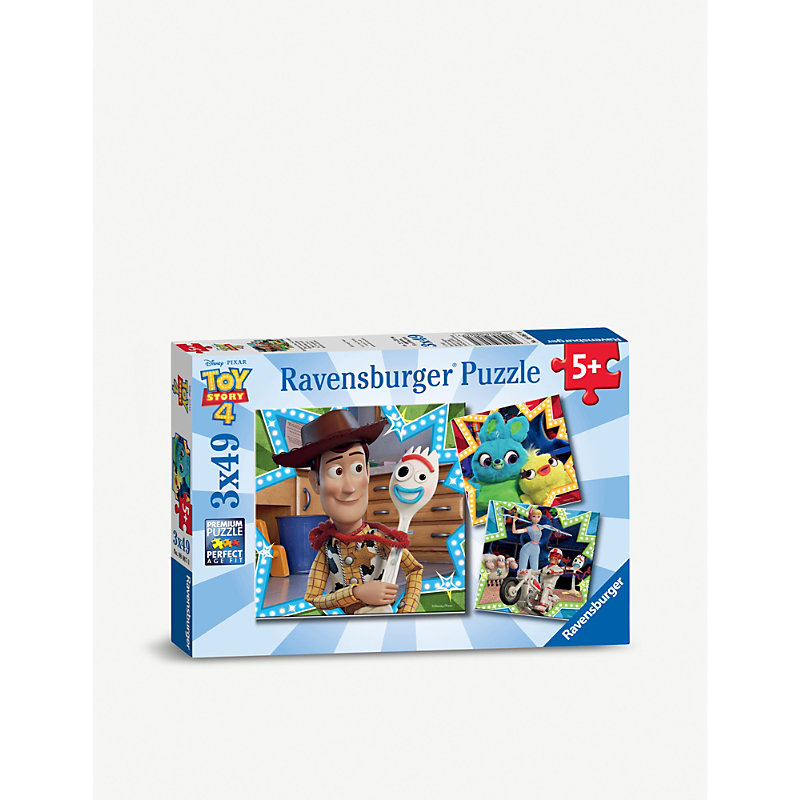 Disney Pixar Toy Story Ravensburger 3x 49-piece jigsaw puzzles