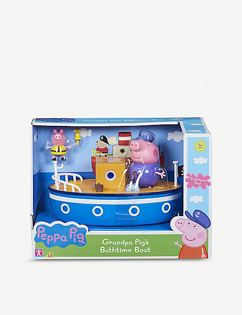 PEPPA PIG: Grandpa Pig's bathtime boat play set