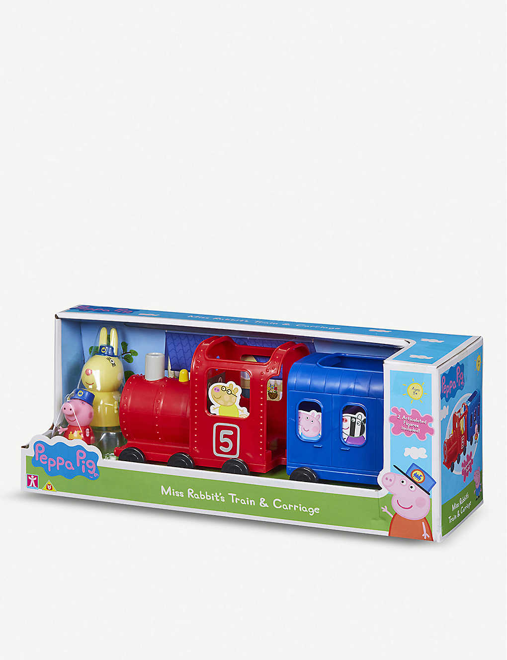 PEPPA PIG: Miss Rabbits Train and Carriage Toy