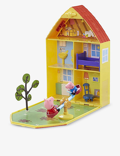 PEPPA PIG Peppa House and Garden Playset 31.7cm