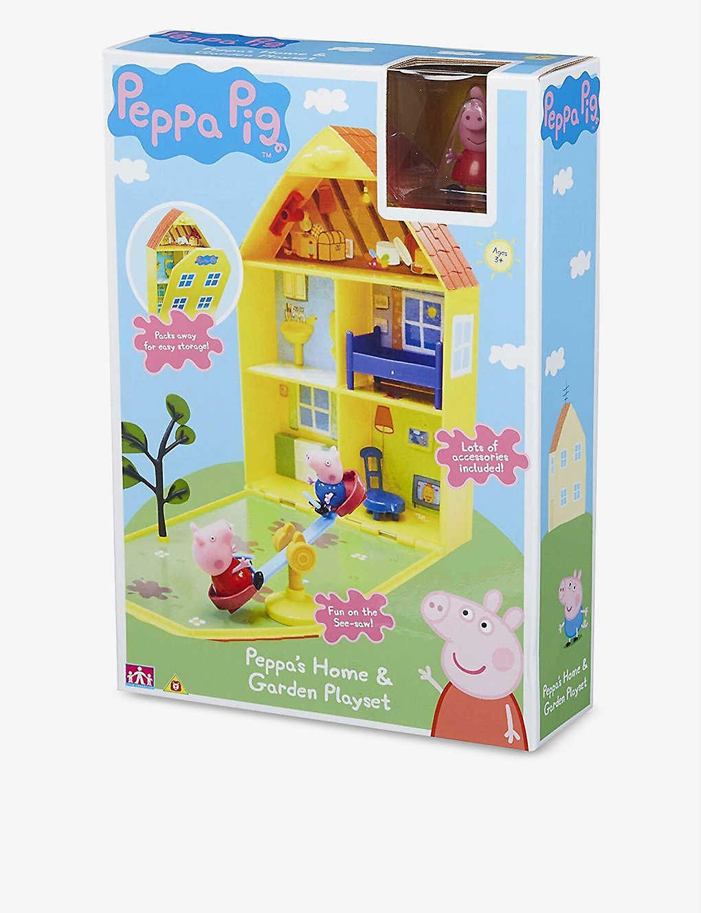 Peppa House And Garden Playset