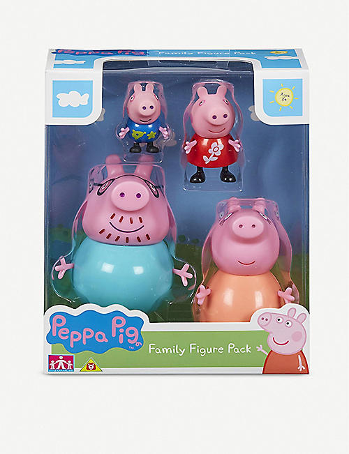 PEPPA PIG: Family figure pack of 4