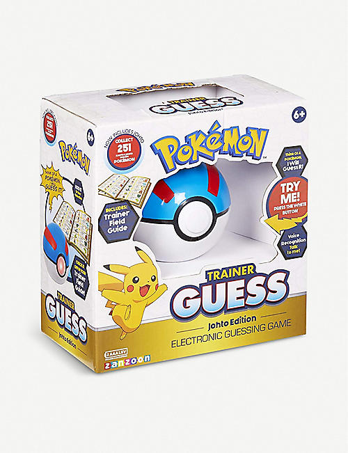 POKEMON Johto edition Trainer Guess ball