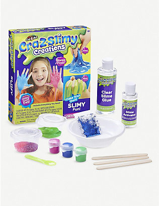 SLIME:Cra-Z-Slimy Creations Slimy Fun 趣味粘土彩泥套装