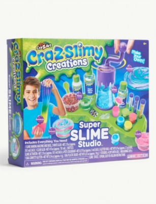 SLIME Cra-Z-Slimy Creations Super Slime Studio