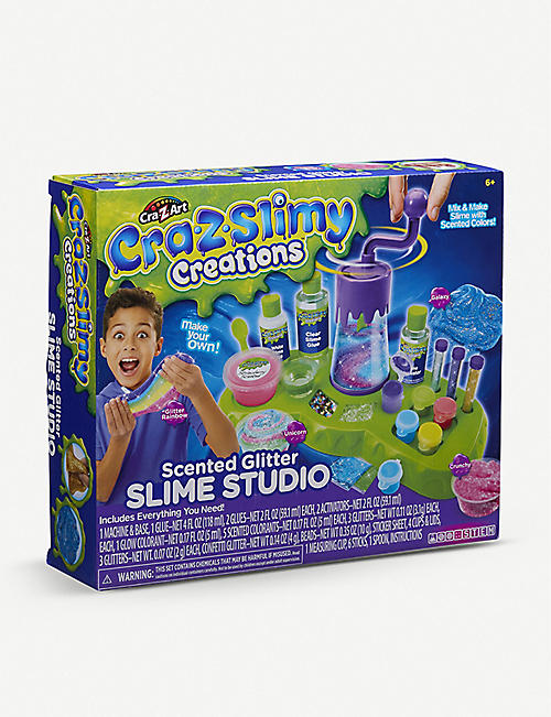 SLIME: Cra-Z Slimy Creations Scented Slime Studio