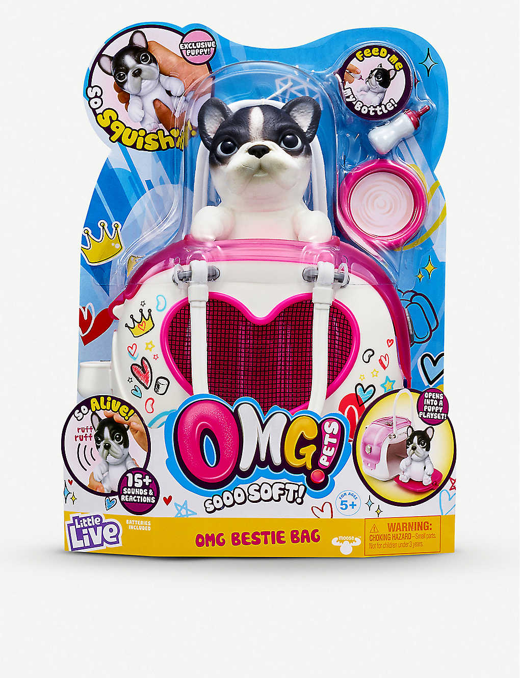POCKET MONEY: Little Live OMG Pets Bestie bag