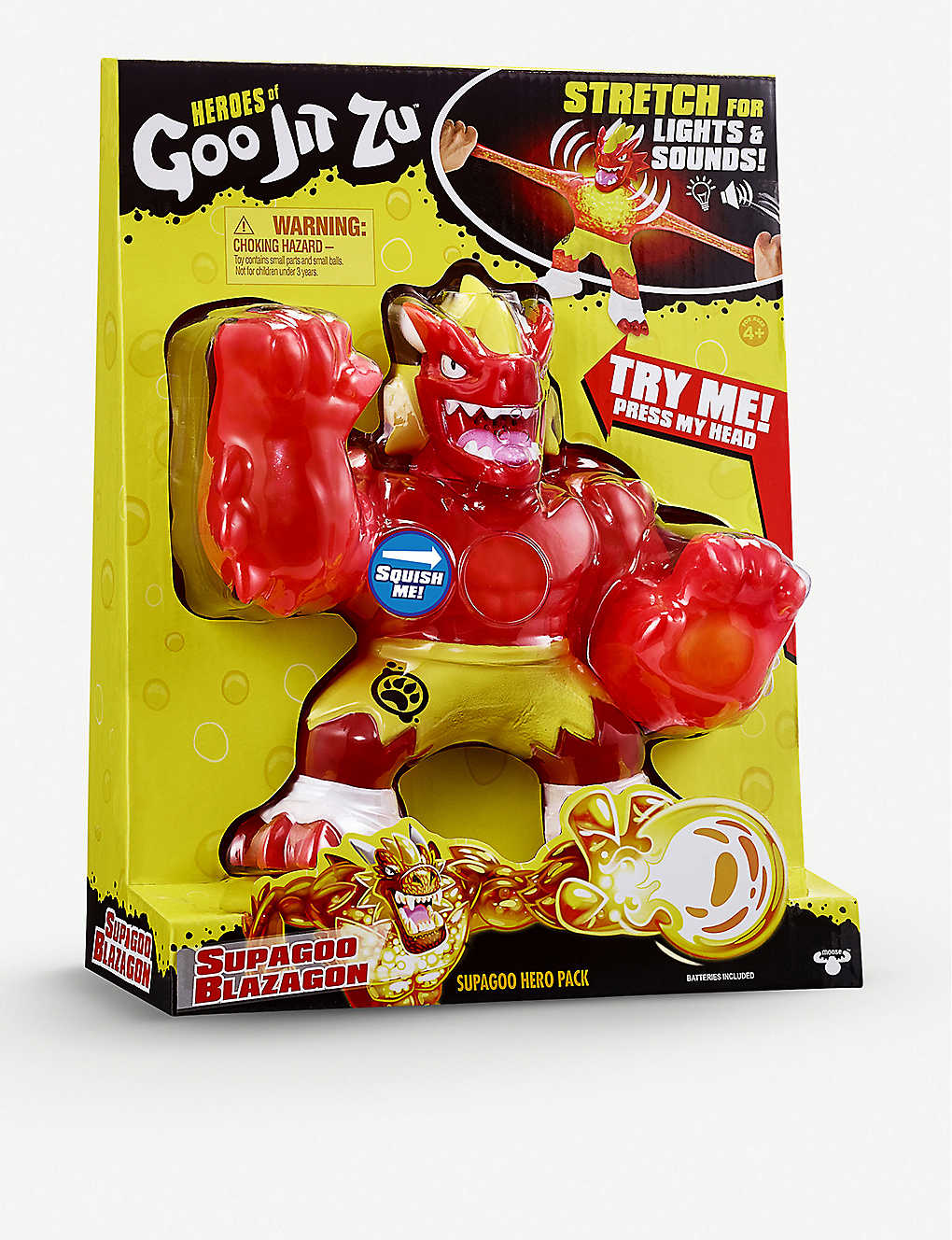 POCKET MONEY:Heroes of Goo Jit Zu Supagoo Blazagon 玩具