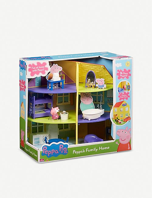 PEPPA PIG: Peppa's Family Home Playset 35.5cm
