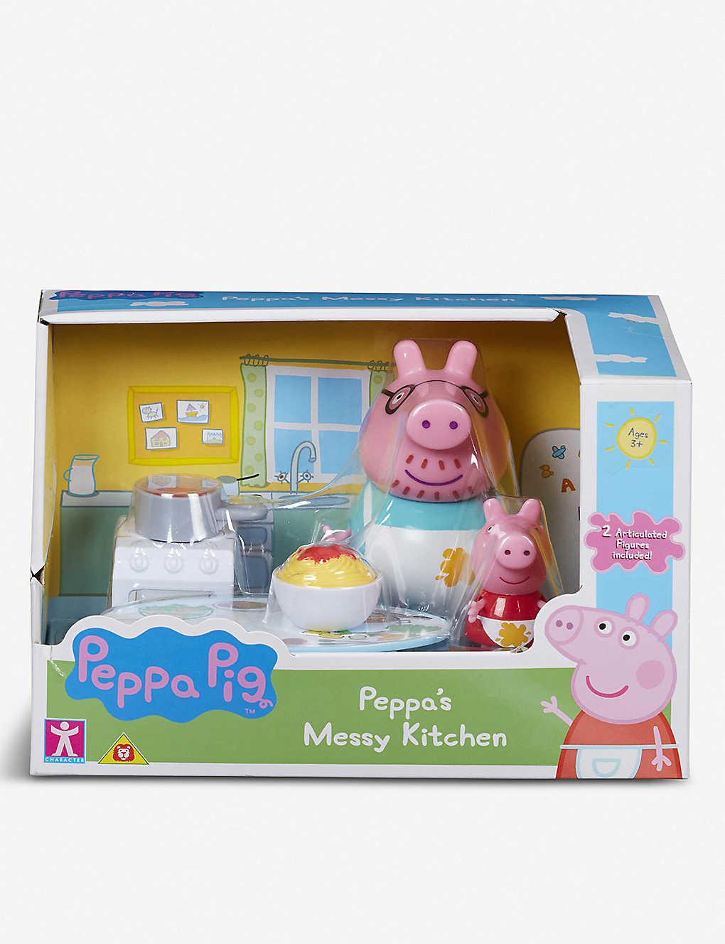 Peppa Pig Messy Kitchen Or Shopping Trip Blind Bag
