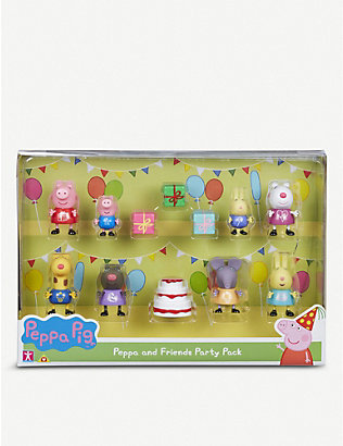 PEPPA PIG: Peppa Pig and Friends Party set