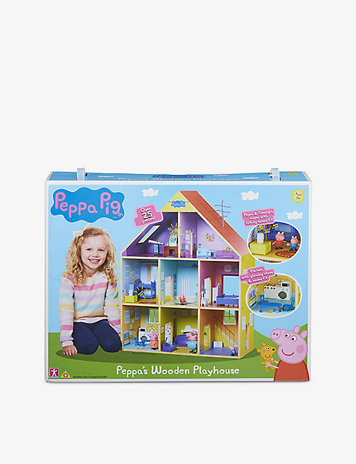 PEPPA PIG: Wooden Playhouse