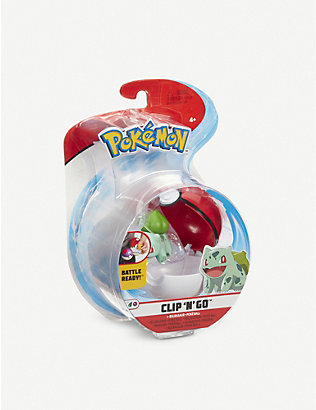 POKEMON: Pokémon Clip 'N' Go PokéBall with figure