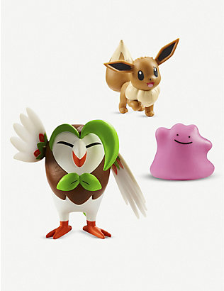 POKEMON: Battle Figures assorted action figures