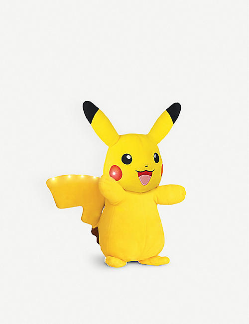 POKEMON Power Action Pikachu soft toy