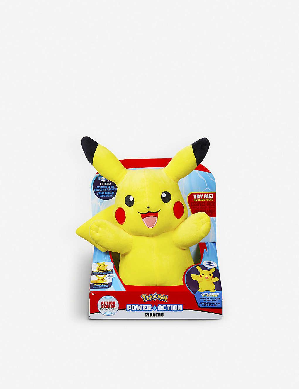 cc667af0e06af POKEMON - Power Action Pikachu soft toy   Selfridges.com