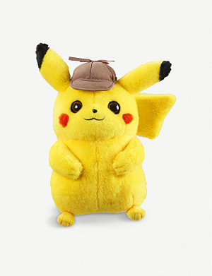 POKEMON Detective Pikachu soft toy 20cm
