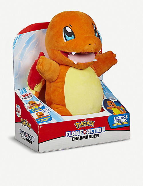 POKEMON Flame Action Charmander toy