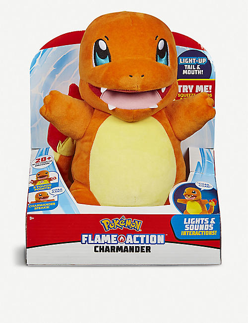 POKEMON: Flame Action Charmander toy
