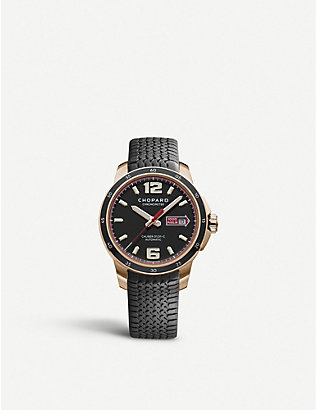 CHOPARD: Mille Miglia 18ct rose-gold GTS automatic watch