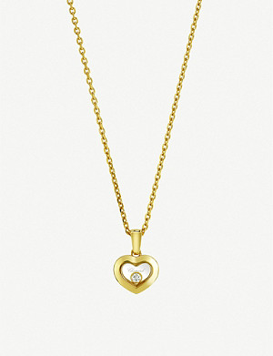 CHOPARD Happy Diamonds Icons 18ct yellow-gold and diamond pendant