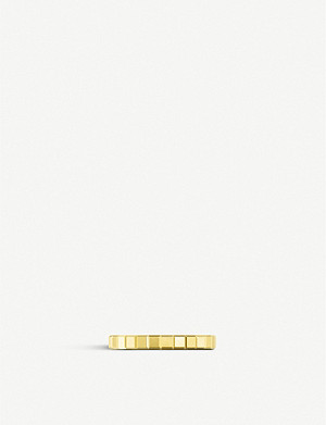 CHOPARD Ice Cube Pure 18ct yellow-gold ring