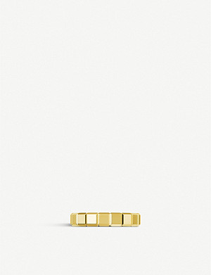 CHOPARD Ice Cube 18ct yellow-gold ring