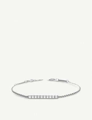 CHOPARD Ice Cube Pure 18ct white-gold bracelet