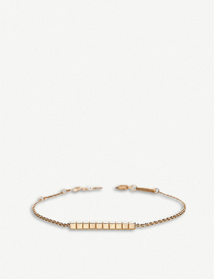 CHOPARD Ice Cube Pure 18ct rose-gold bracelet