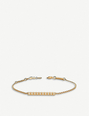 CHOPARD Ice Cube Pure 18ct rose-gold and diamond bracelet