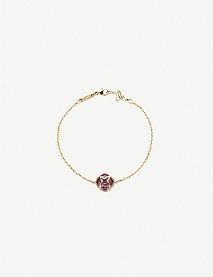 CHOPARD Imperiale 18ct rose-gold and amethyst bracelet