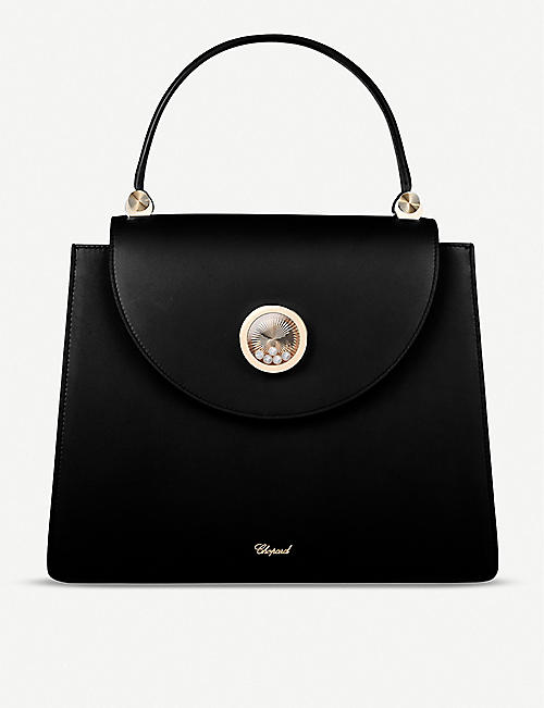 CHOPARD: Happy Lady leather shoulder bag