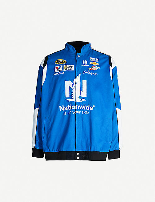DEPOP Essiistore Nascar relaxed-fit cotton-twill jacket