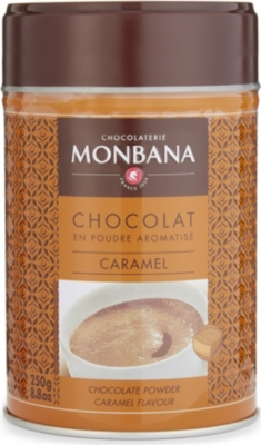 MONBANA Caramel flavoured hot chocolate powder 250g