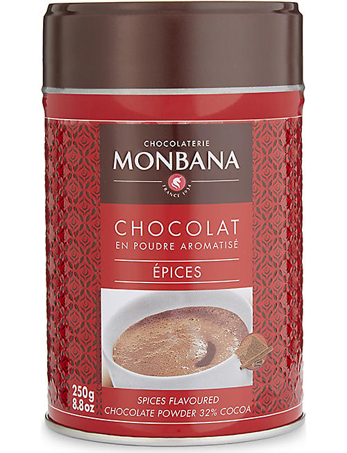 MONBANA Spice flavoured hot chocolate powder 250g