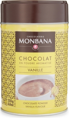MONBANA Vanilla flavoured hot chocolate powder 250g