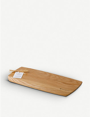 ROYAL DOULTON: 1815 oak serving board 40cm