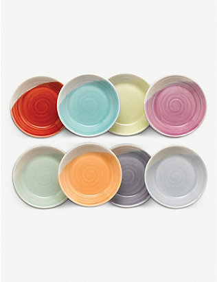 ROYAL DOULTON: 1815 tapas dip trays set of 8